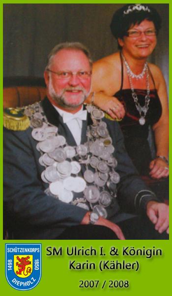 SM Ulrich I und Königin Karin